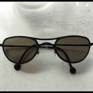 l.a. Eyeworks Aviator Titanium Frames Sunglasses for sale